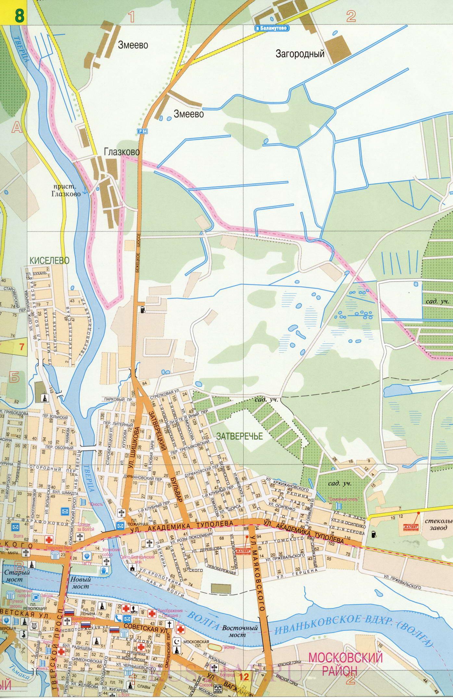 Карта улиц Твери. Большая крупномасштабная карта города ...: http://tver-maps.ru/map1515911_0_2.htm